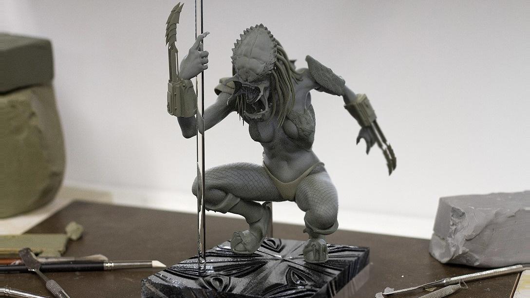Emblem für Illustrationen und Modelle 3D Alien