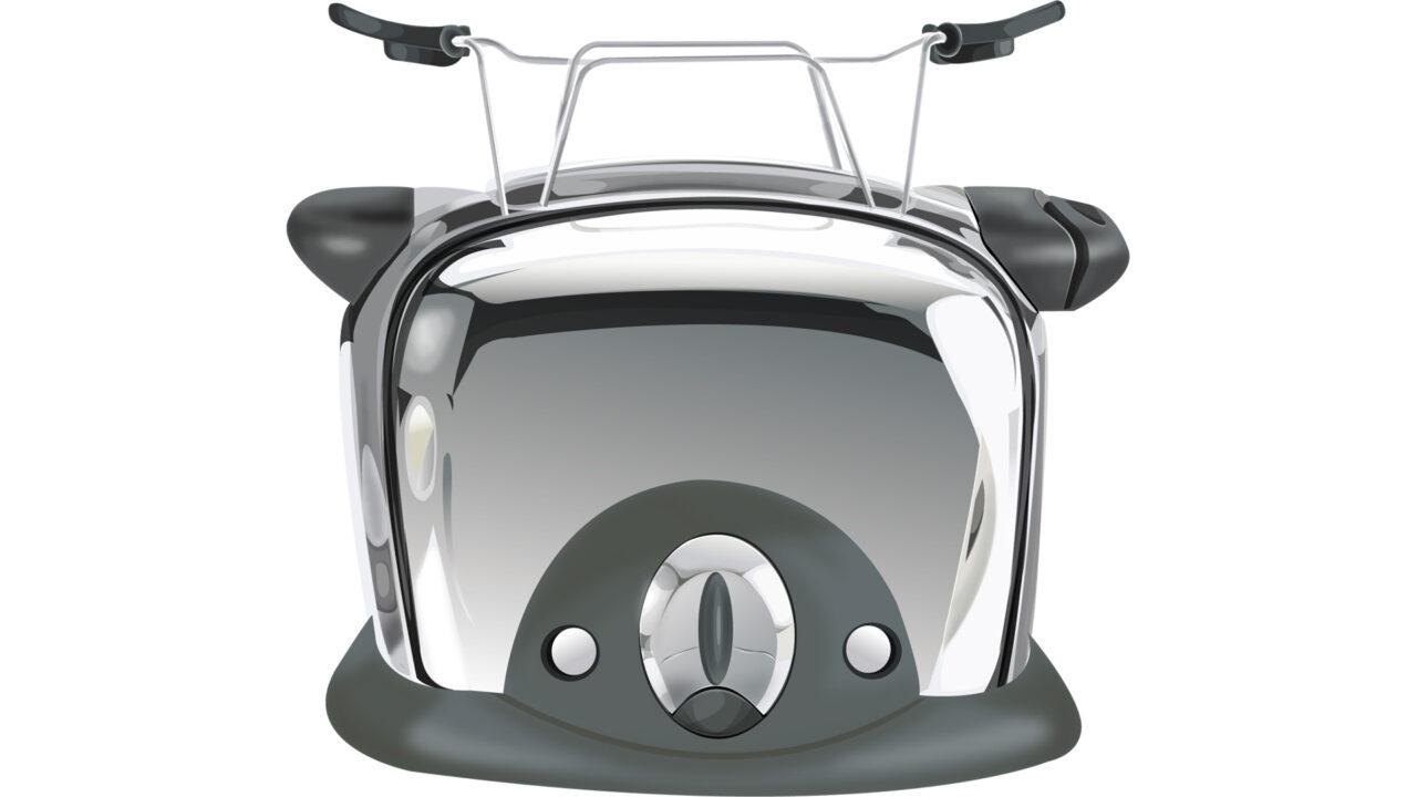 Emblem für Illustrationen Toaster