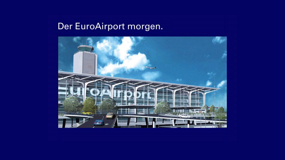 3D Modell vom Neubau EuroAirport
