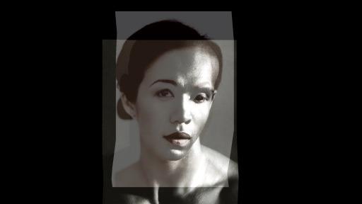 Installation Claude Sieber – Morf von zwei verschiedenen Gesichtern