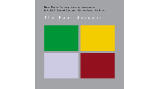 DVD New Media Factory, The Four Seasons – DVD Hülle Rückseite