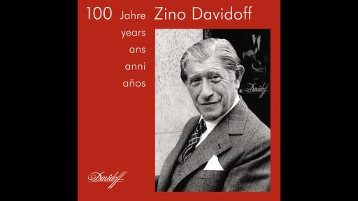 DVD 100 Jahre Zino Davidoff – DVD Hülle mit Aufdruch Portrait Zino Davidoff