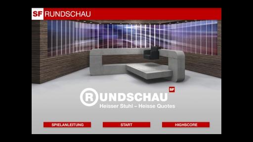 Screenshot Online-Ratequiz «Heisser Stuhl – Heisse Quotes» Spielstart