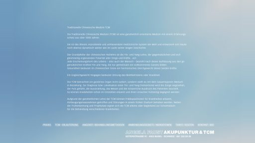 Bildschirmfoto Webdesign S Angela Faust – Ärzte-Website