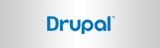 Logo Drupal farbig